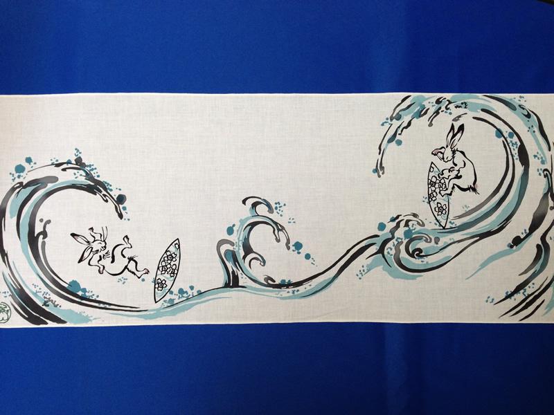 波乗り兎の画像