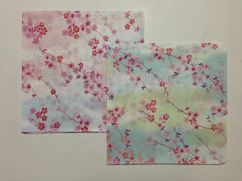 枝垂れ桜 ブルーの画像