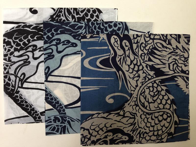 龍鱗 白・水・青の画像