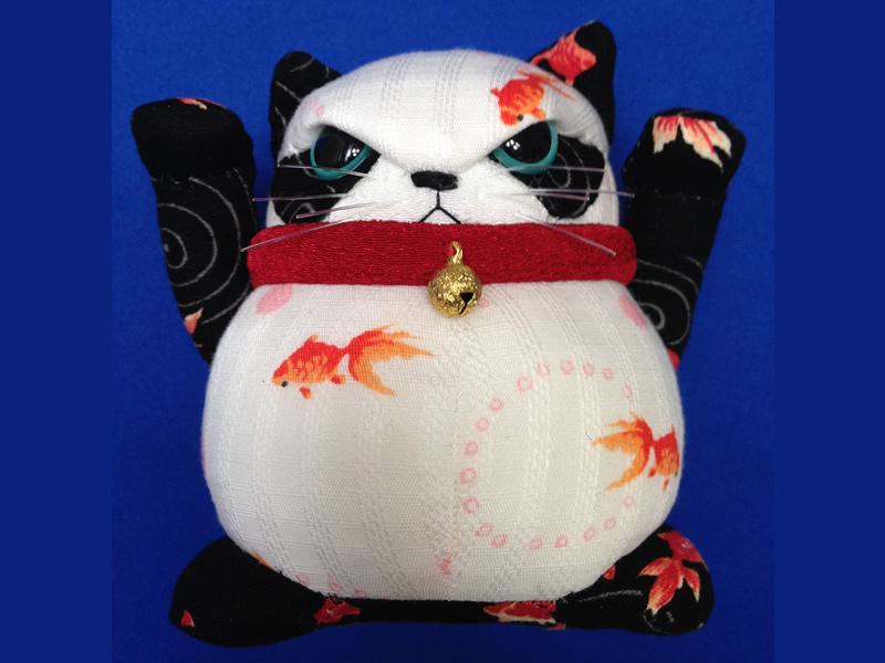 hachi.×hagi 超わるパンダねこ 金魚×両手の画像